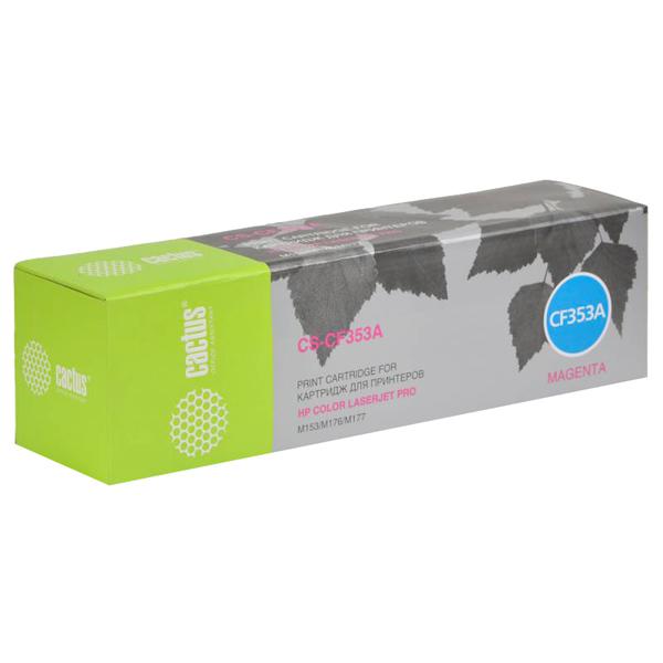 Картридж для лазерного принтера Cactus CS-CF353A Magenta для HP M176/M177 (1000стр.) фото