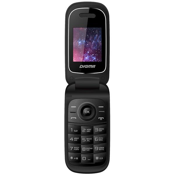 Мобильный телефон Digma Linx A205 2G Black