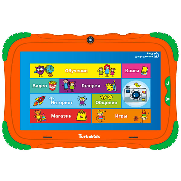 "Планшет TurboKids — S5 7"" 8Gb Wi-Fi Orange"