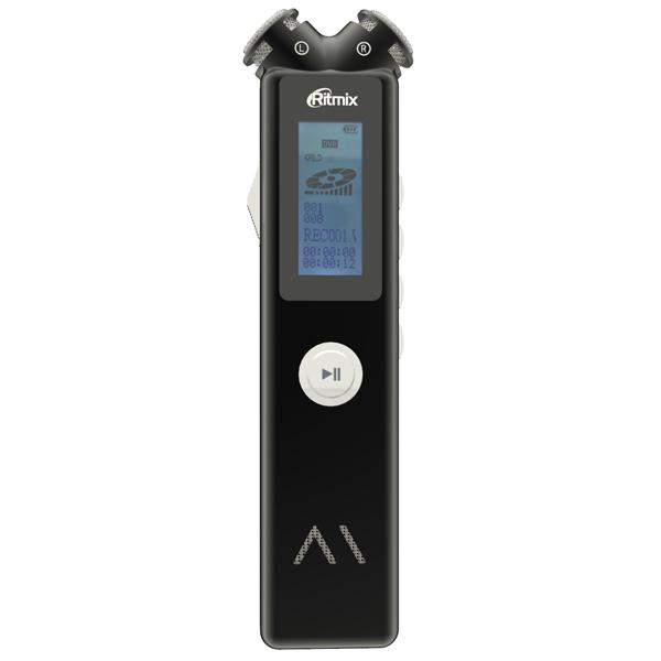 Диктофон цифровой Ritmix RR-145 8GB Black