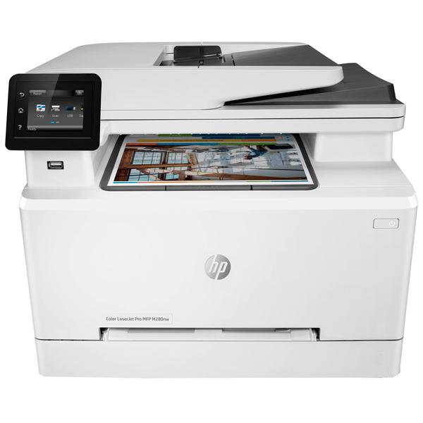 Лазерное МФУ (цветное) HP Color LaserJet Pro MFP M280nw