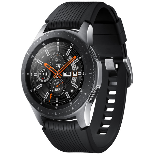 Купить Смарт-часы Samsung Galaxy Watch 46mm Silver в каталоге ... 84818d73afba1