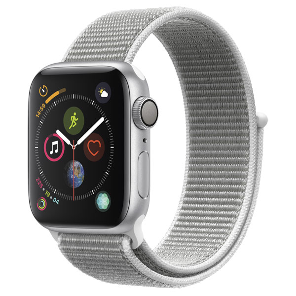 Смарт-часы Apple Watch S4 Sport 44mm SilverAl/Seashell Sport Loop