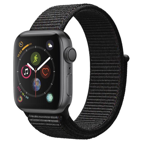 Смарт-часы Apple Watch S4 Sport 44mm SpaceGrey Al/Black Sport Loop