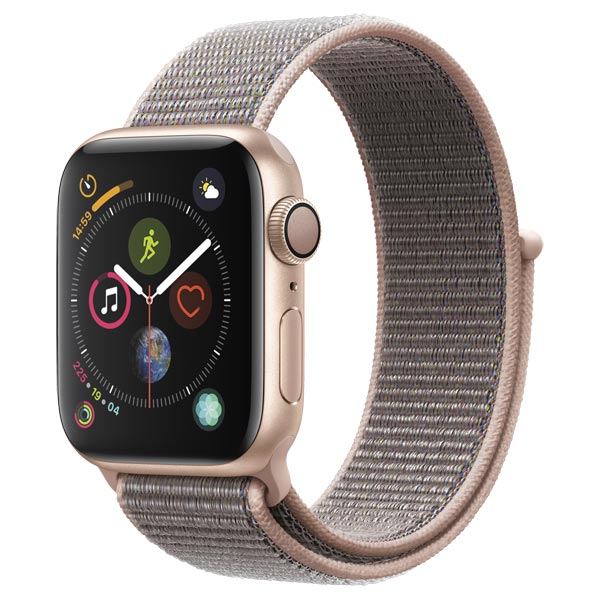 Смарт-часы Apple Watch S4 Sport 44mm Gold Al/Pink Sand Sport Loop