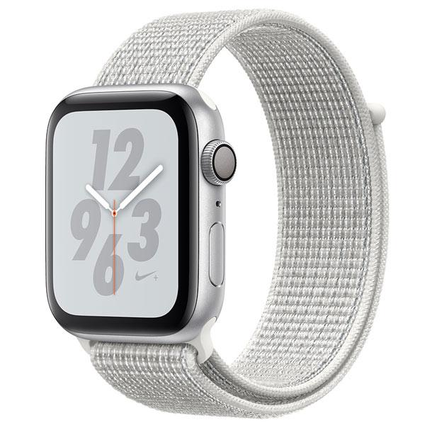 Смарт-часы Apple Watch S4 Nike+ 44mm Silver Al/Wh Nike Sport Loop