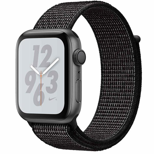 Смарт-часы Apple Watch S4 Nike+ 44mm SpGray Al/Bl Nike Sport Loop