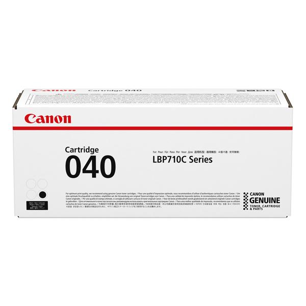 Картридж для лазерного принтера Canon 040 BK черного цвета