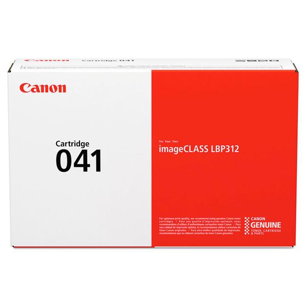 Картридж для лазерного принтера Canon 041 Black черного цвета