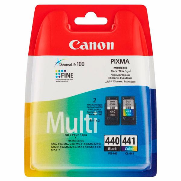 Картридж для струйного принтера Canon PG-440/CL-441 MULTI цвет 8