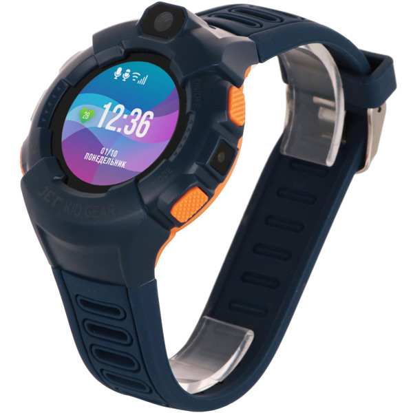 Часы с GPS трекером Jet Kid Gear Blue/Orange