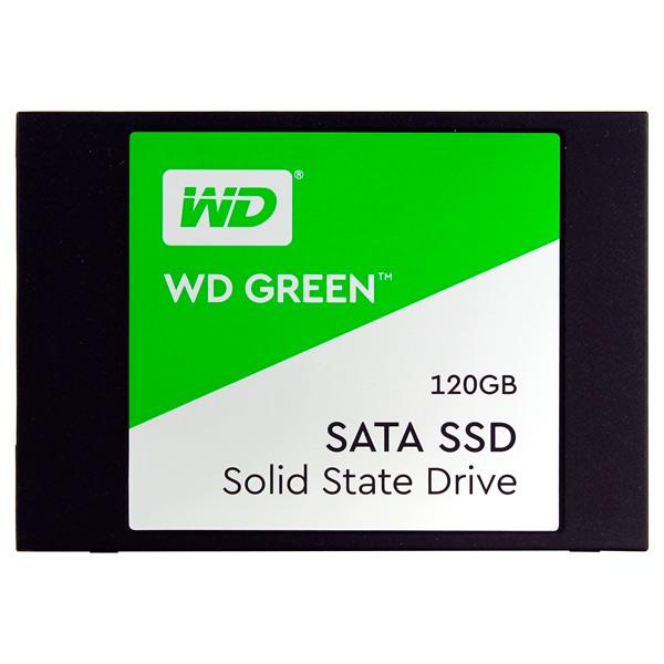 Внутренний SSD накопитель WD 120GB Green (WDS120G2G0A)
