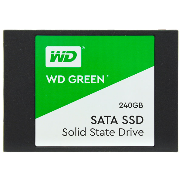 Внутренний SSD накопитель WD — 240GB Green (WDS240G2G0A)