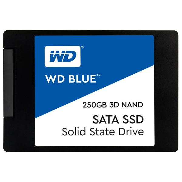 Внутренний SSD накопитель WD 250GB Blue (WDS250G2B0A)