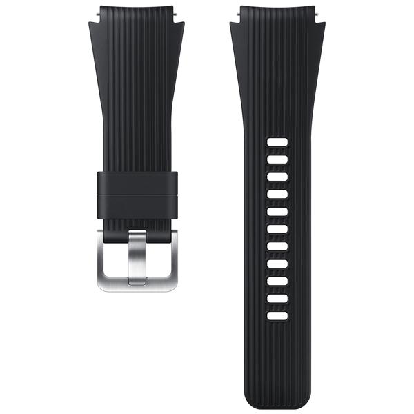 Сменный ремешок для носимого устройства Samsung силиконовый ремешок для Galaxy Watch 46mm, Black