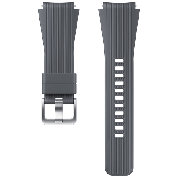 Сменный ремешок для носимого устройства Samsung силиконовый ремешок для Galaxy Watch 46mm, Gray