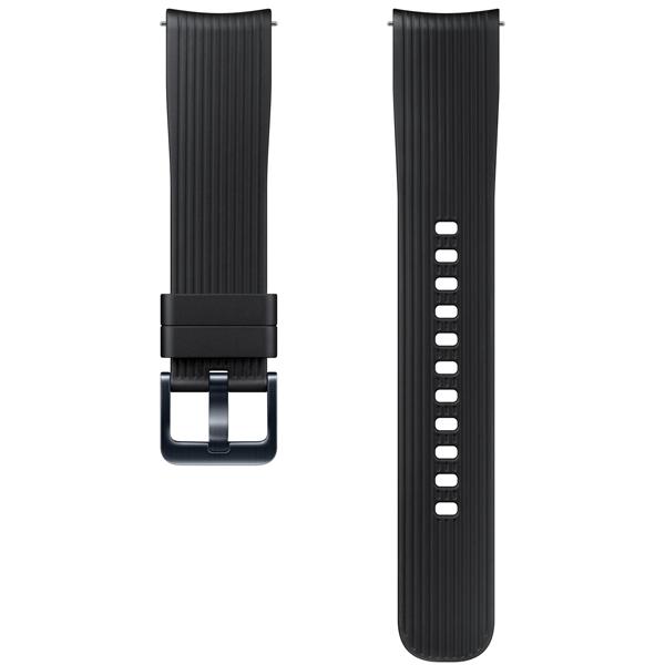 Сменный ремешок для носимого устройства Samsung силиконовый ремешок для Galaxy Watch 42mm, Black