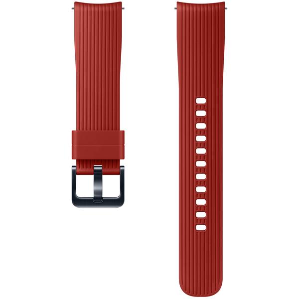 Сменный ремешок для носимого устройства Samsung силиконовый ремешок для Galaxy Watch 42mm, Red