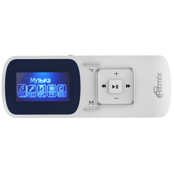 Портативный медиаплеер Ritmix — RF-3490 4GB White