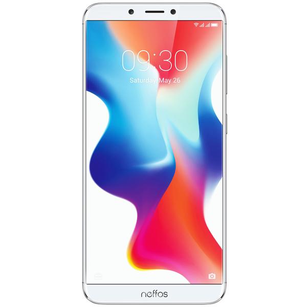 Смартфон TP-Link Neffos X9 Moonlight Silver (TP913A)