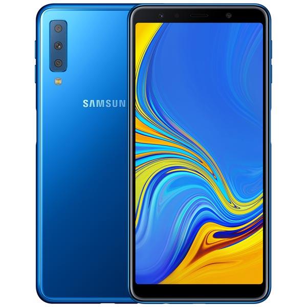 Смартфон Samsung Galaxy A7 (2018) 64Gb Blue