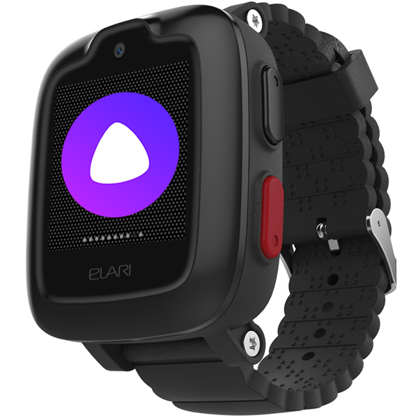 Часы с GPS трекером Elari KidPhone 3G Black