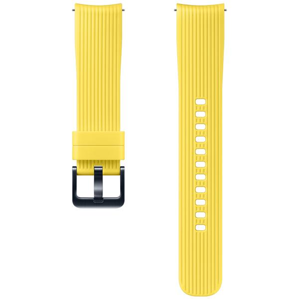 Сменный ремешок для носимого устройства Samsung силиконовый ремешок для Galaxy Watch 42mm, Yellow