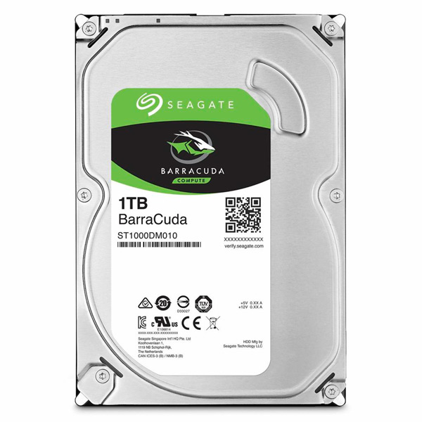 Жесткий диск Seagate 1TB Barracuda ST1000DM010