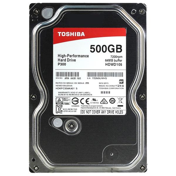 Купить Жесткий диск Toshiba 500GB P300 HDWD105UZSVA в каталоге интернет магазина М.Видео по выгодной цене с доставкой, отзывы, фотографии - Пенза
