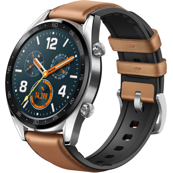Смарт-часы Huawei Watch GT Steel Gray (FTN-B19)