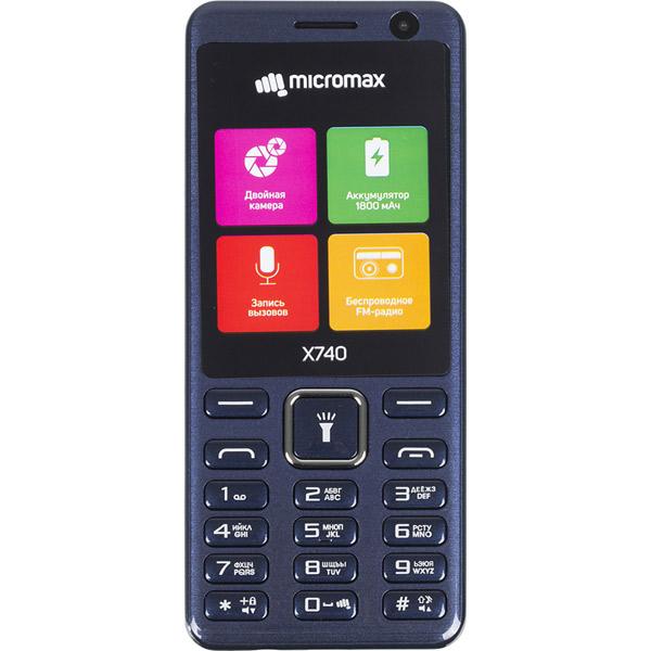 Мобильный телефон Micromax, X740  - купить со скидкой