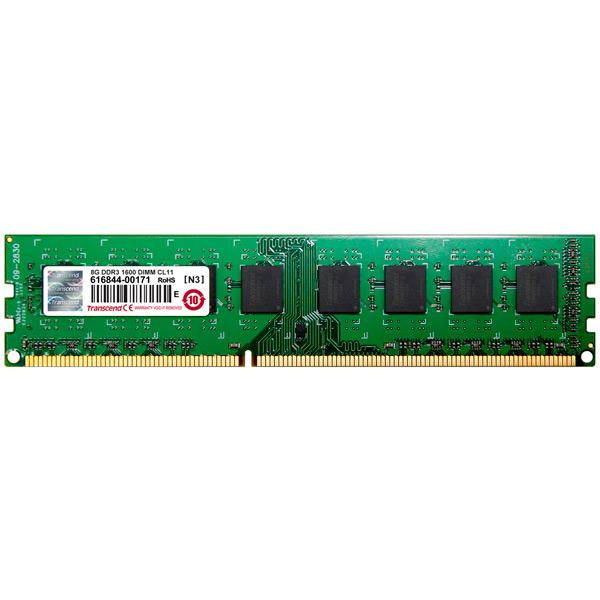 Купить Оперативная память Transcend 8GB Jetram 1600MHz DIMM (JM1600KLH-8G) в каталоге интернет магазина М.Видео по выгодной цене с доставкой, отзывы, фотографии - Набережные Челны