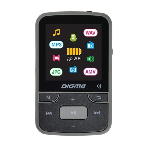 Портативный медиаплеер Digma — Z4