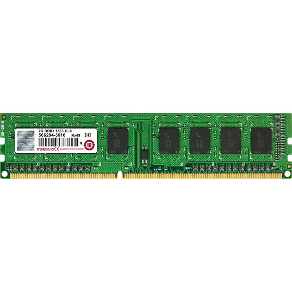 Оперативная память Transcend 2GB JM1333KLN-2G