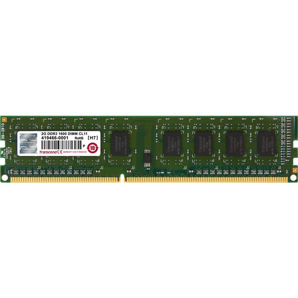 Оперативная память Transcend 2GB JM1600KLN-2G