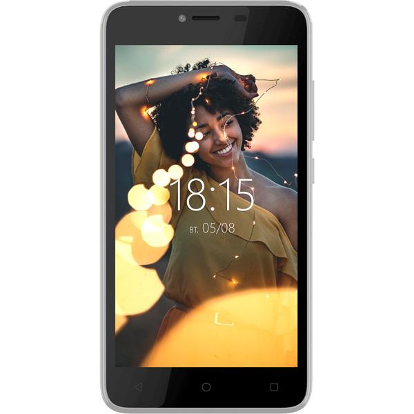 Смартфон BQ mobile Velvet Easy Silver (BQ-5000G)