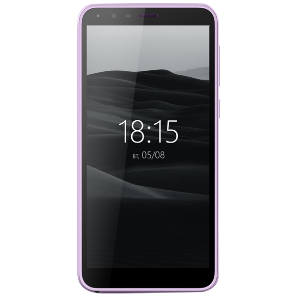 Смартфон BQ mobile Velvet View Mint Purple (BQ-5300G)
