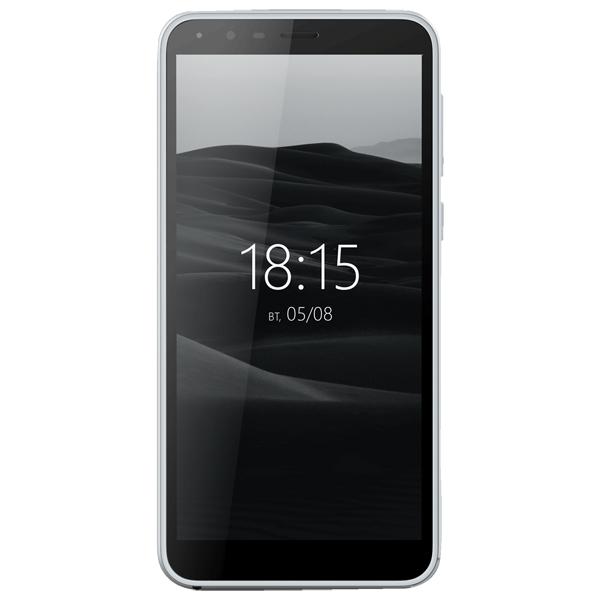 Смартфон BQ mobile Velvet View Silver (BQ-5300G)