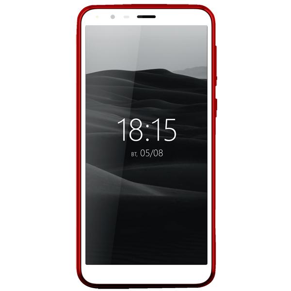 Смартфон BQ mobile Velvet View Wine Red (BQ-5300G)