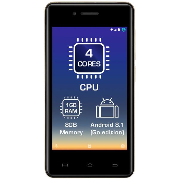 Смартфон Prestigio PSP3406DUO WIZE Y3 GOLD