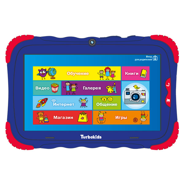 Планшет TurboKids — S5 16Gb Blue