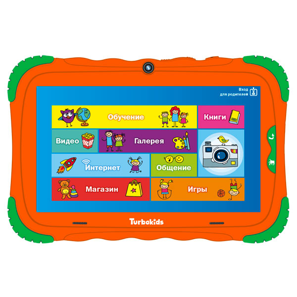 Планшет TurboKids — S5 16Gb Orange