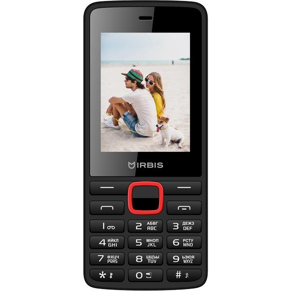 Мобильный телефон Irbis SF19r Black/Red SF19