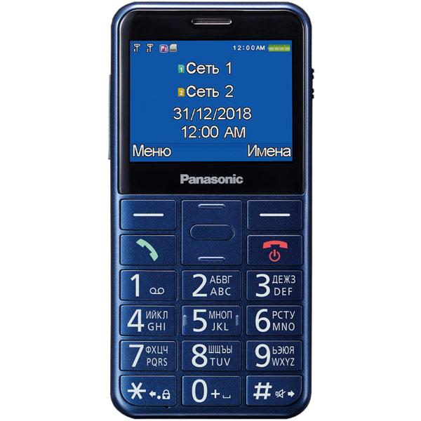 Мобильный телефон Panasonic — KX-TU150 Blue