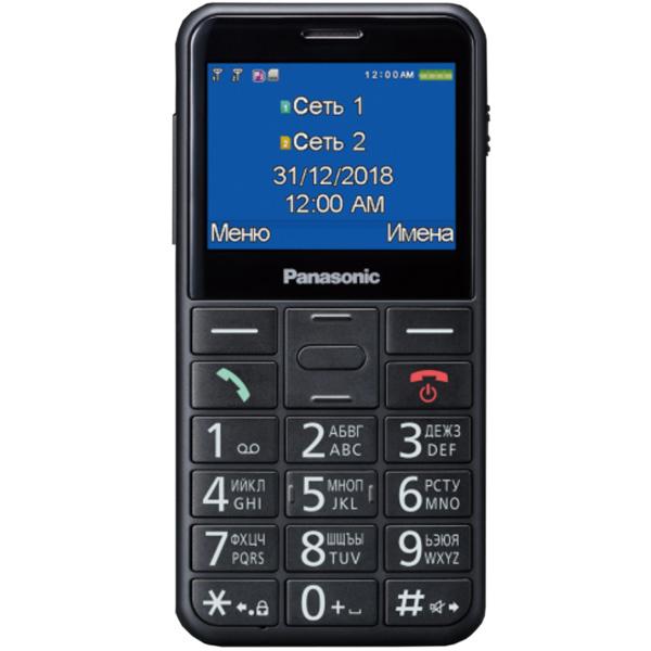 Мобильный телефон Panasonic — KX-TU150 Black