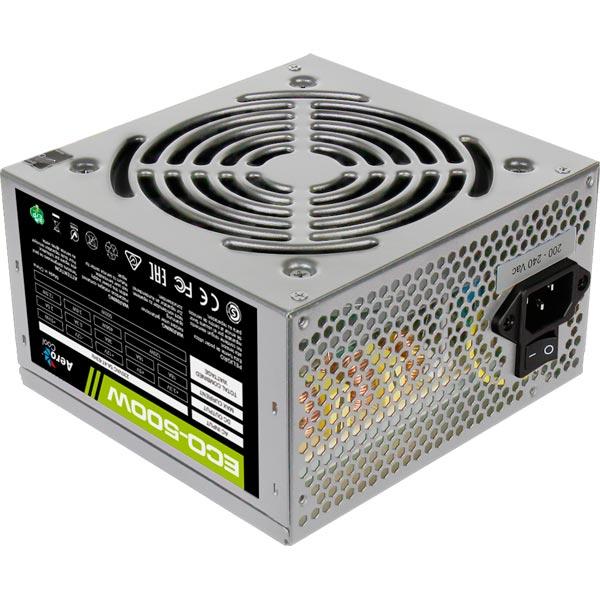 Блок питания для компьютера Aerocool ECO-500W