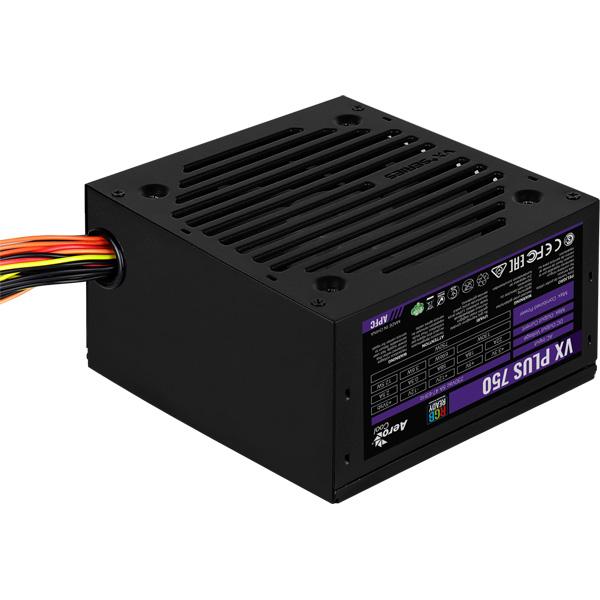 Блок питания для компьютера Aerocool VX PLUS 750 RGB
