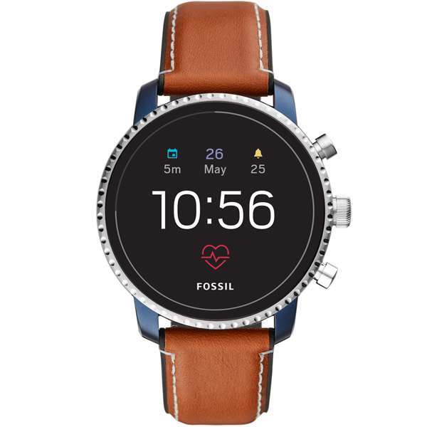 Смарт-часы Fossil Gen 4 - Explorist HR Tan Leather