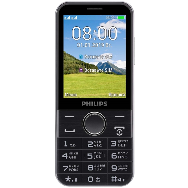 ad71dd8c7af93 Купить Мобильный телефон Philips Xenium E580 Black в каталоге ...