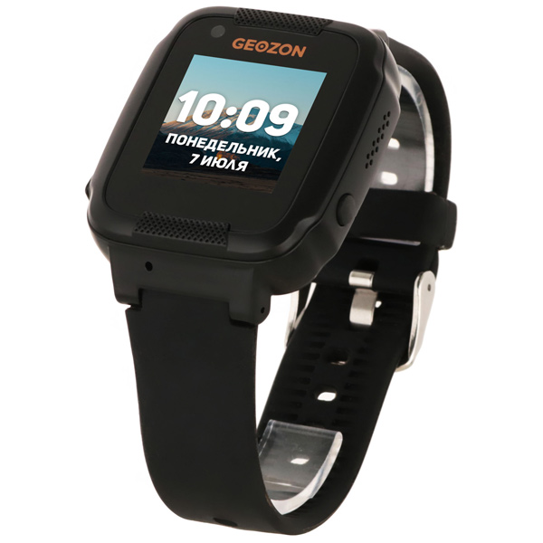 Часы с GPS трекером Geozon Air Black (G-W02BLK)
